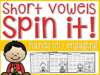 Short Vowels Spin It