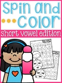 Short Vowels Spin and Color