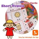 Short Vowels Task Card