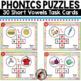 Short Vowels Task Cards - Phonics Puzzles