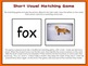 Short Vowels Task Cards, Word Sort, and Matching Game Set
