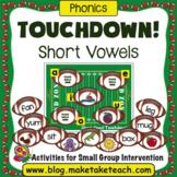 Short Vowels - Touchdown! A Football Themed Activity
