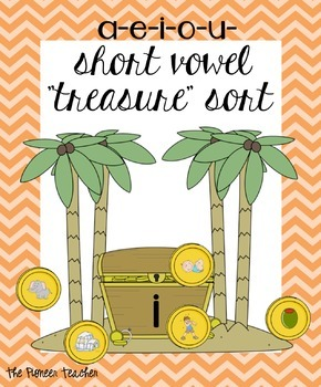 Short Vowels Treasure Hunt [Center Activity]