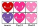 Valentine's Day Activities Short Vowels Literacy Center with Worksheets