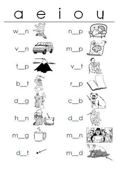 photo relating to Free Printable Short Vowel Worksheets called Shorter Vowel Worksheets Lecturers Pay out Instructors