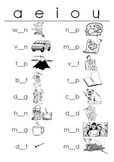 Short Vowels WORKSHEETS Fill-in-the-Blanks