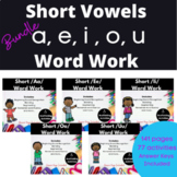 Short Vowels Word Work Printable Bundle
