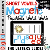Short Vowels CVC Digital Learning Activities | Phonics Dis