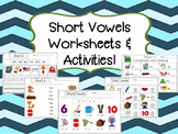 Short Vowels Worksheets & Activity