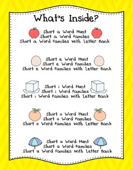 Short Vowels Worksheets - Loomy Bracelets