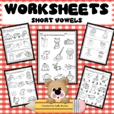 Short Vowels Worksheets- Print and Go