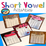 Phonics Worksheets First Grade: Bundle and Crafts