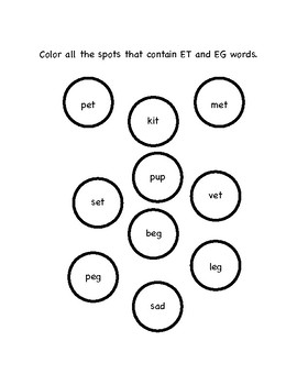 Short Vowels and CVC Word Families with Bob Books Set 1
