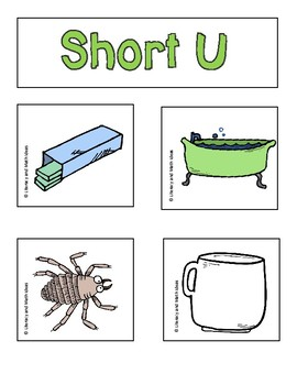 Short Vowels and CVC Word Sorts