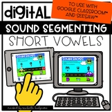 Short Vowels cvc Digital Distance Learning for Google Clas