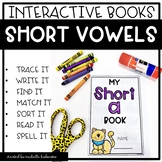 Short Vowels cvc | Interactive Phonics Books | Phonics