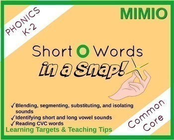Short Vowels in a Snap Bundle
