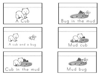 Short Vowels Mini-Readers and Picture Sorts