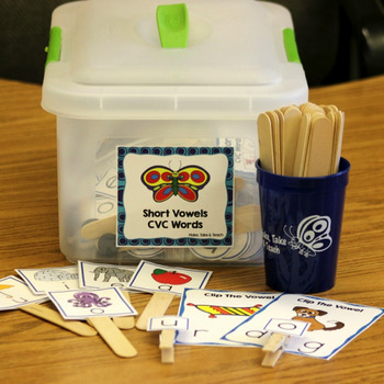 Short Vowels/CVC Intervention Kit for Teachers