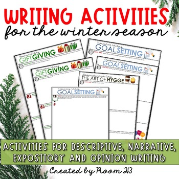 Short Writing Activities for the Christmas & Winter Season