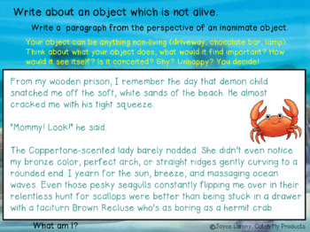 Writing Prompts for Power Point with Entertaining Examples - Gifted & Talented