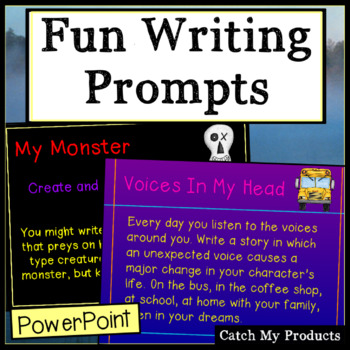 Short Writing Prompts Packet