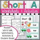 Short A Worksheets - Short A Activities