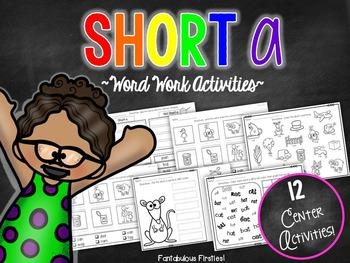 Short a CVC Word Work Activities