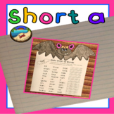 Short a Worksheet and Craft