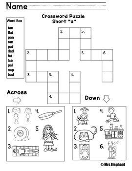Short a Activities and Worksheets (cvc, ccvc)