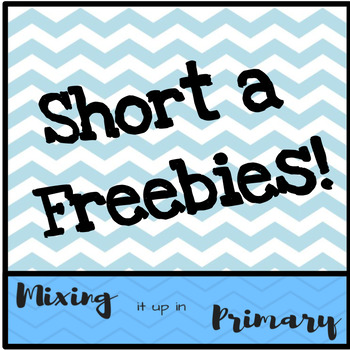 Short a Board Games - FREEBIES!