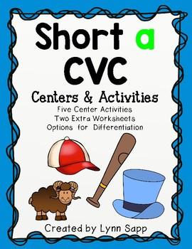 Short a CVC Centers and Activities