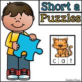 Short a CVC Cut Apart Puzzles