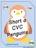 Short a CVC Penguin Card Game