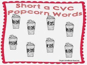 Short a CVC Popcorn Lotto Game