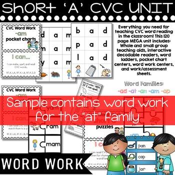 Short a CVC SAMPLE UNIT
