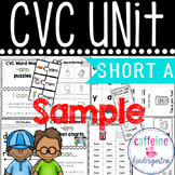 Short a CVC SAMPLE UNIT