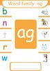 Short  a CVC  Word Families ( -an, -am, -ad, -ag, -ap, -at)