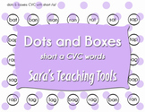 Dots and Boxes: Short /a/ CVC Words
