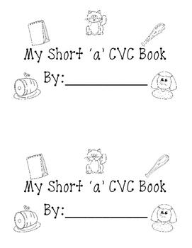 Short a CVC book
