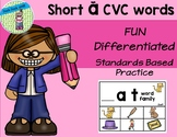 Short a CVC words