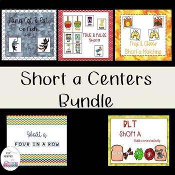 Short a Centers Bundle
