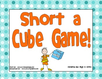 Short a Cube Game FREEBIE!