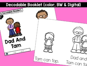 Short a Decodable Readers and Passages FREEBIE