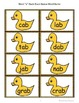 """Short """"a"""" Duck-Duck-Goose Word Game"""