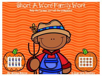 {Short A} Farmer Word Family Pack