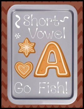 Short a Go Fish - Literacy Center Game