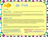 Short /a/ Go Fish Card Game for McGraw-Hill Reading Wonder
