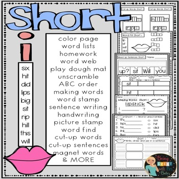 Short i Hands-on Spelling and Phonics