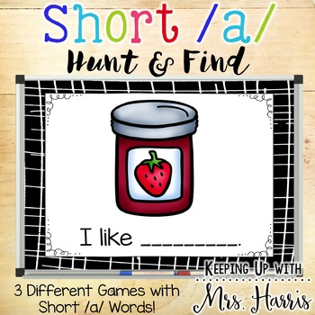 Short /a/ Hunt & Find PowerPoint Game